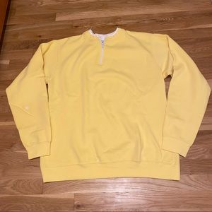 Yellow CARE Quarter Zip